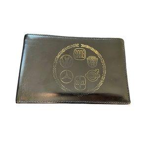 Vintage Car Leather Wallet